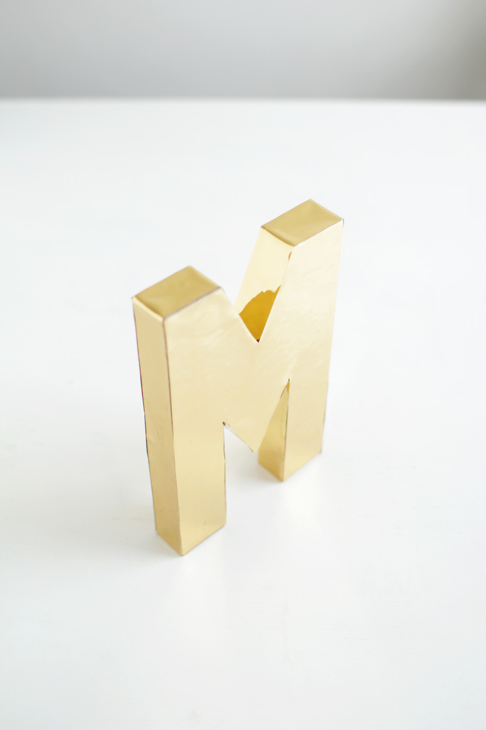 Fall For DIY Gold Letters 1