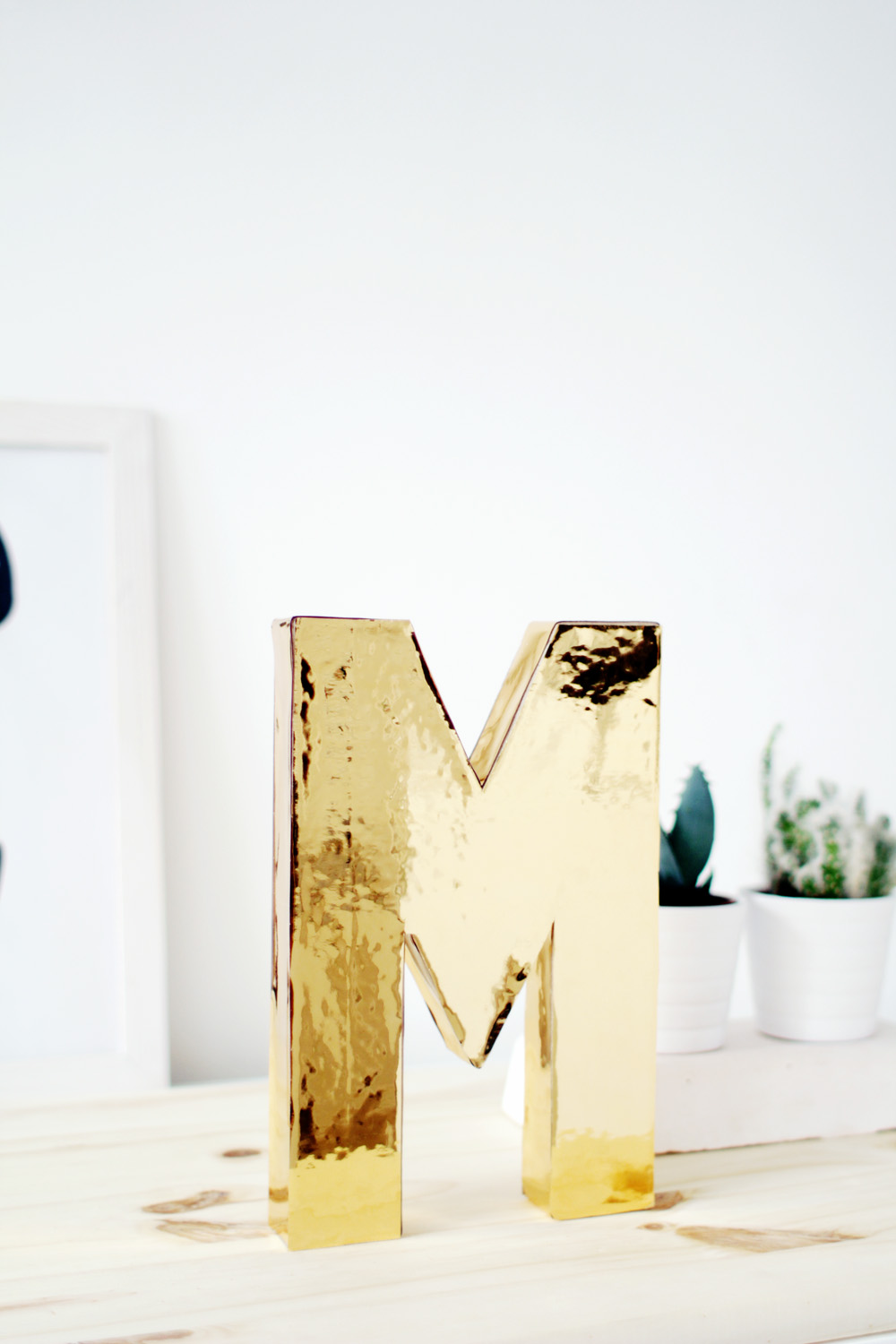 Fall For DIY Gold Letters 3