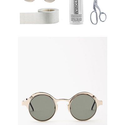 Make it Easy | Gold Rimmed Sunglasses