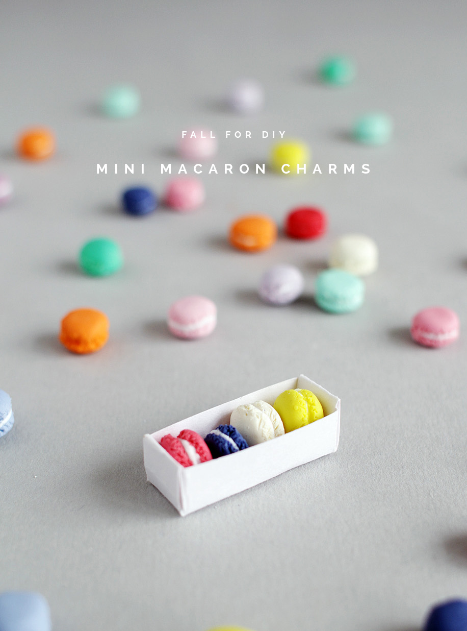 Fall For DIY Mini Macaron Charms
