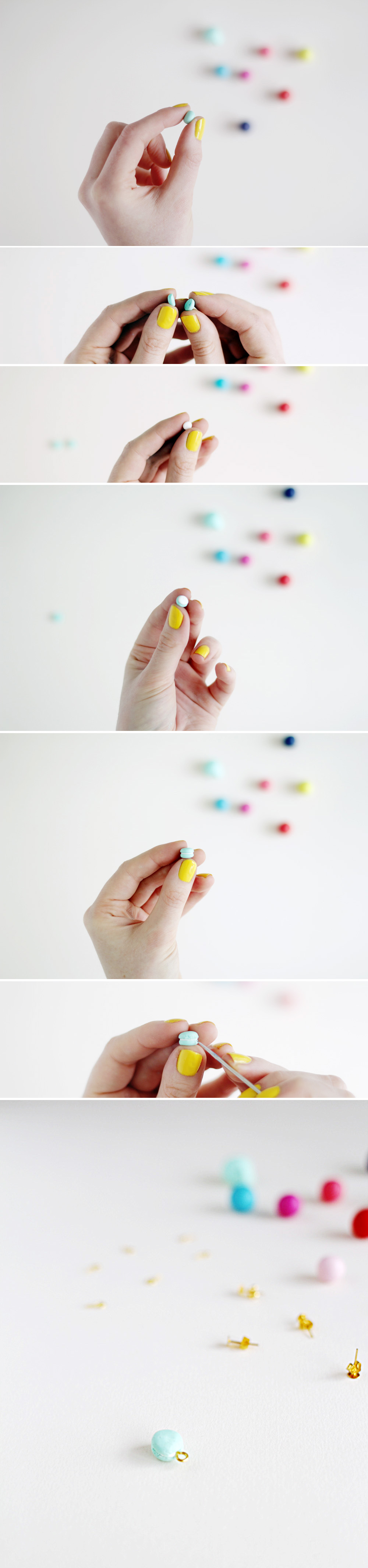 Fall For DIY Mini Macaron tutorial