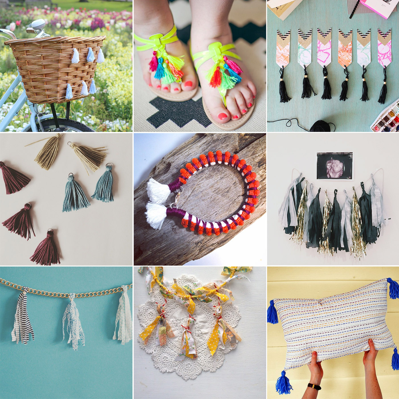 Fall For DIY #tasselhappy Instagram challenge round up