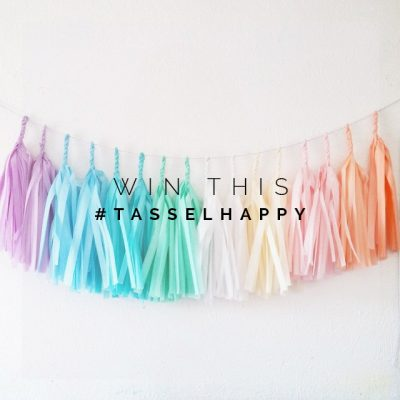 Win some #tasselhappy when you join us on Instagram
