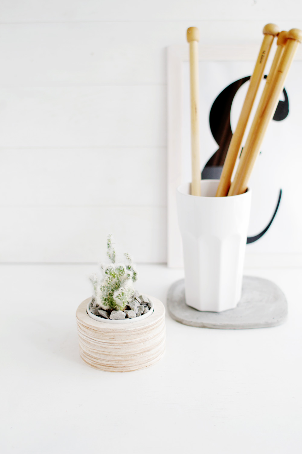 Balsa Wood Planter Tutorial Fall For DIY