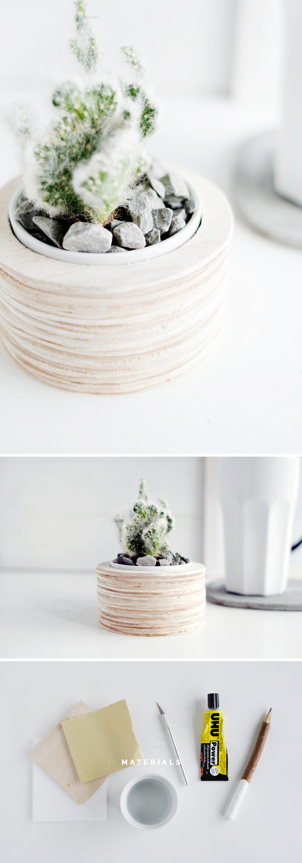 Fall For DIY Balsa Wood Planter Materials