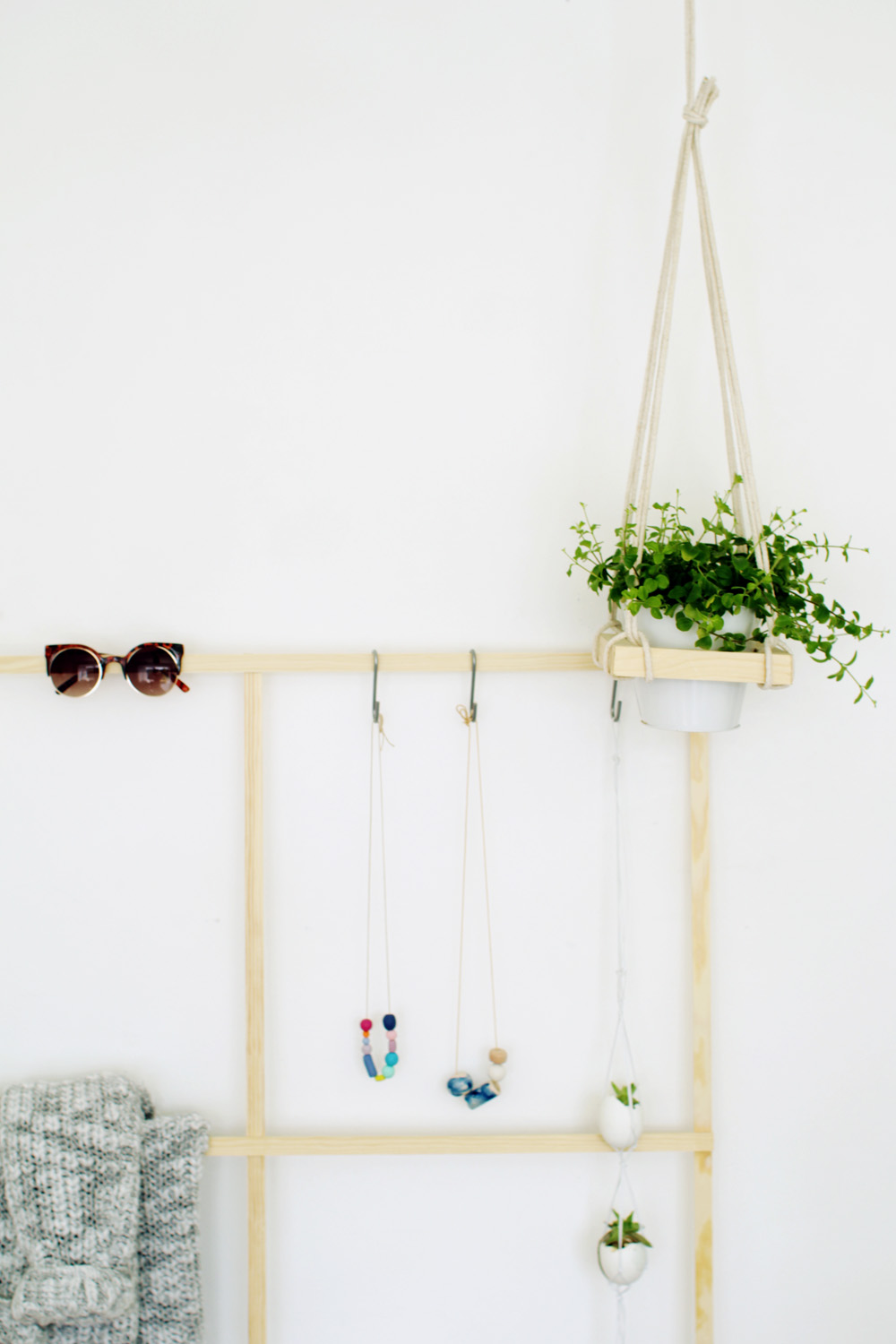 Fall For DIY Trellis Clothes Rack 10