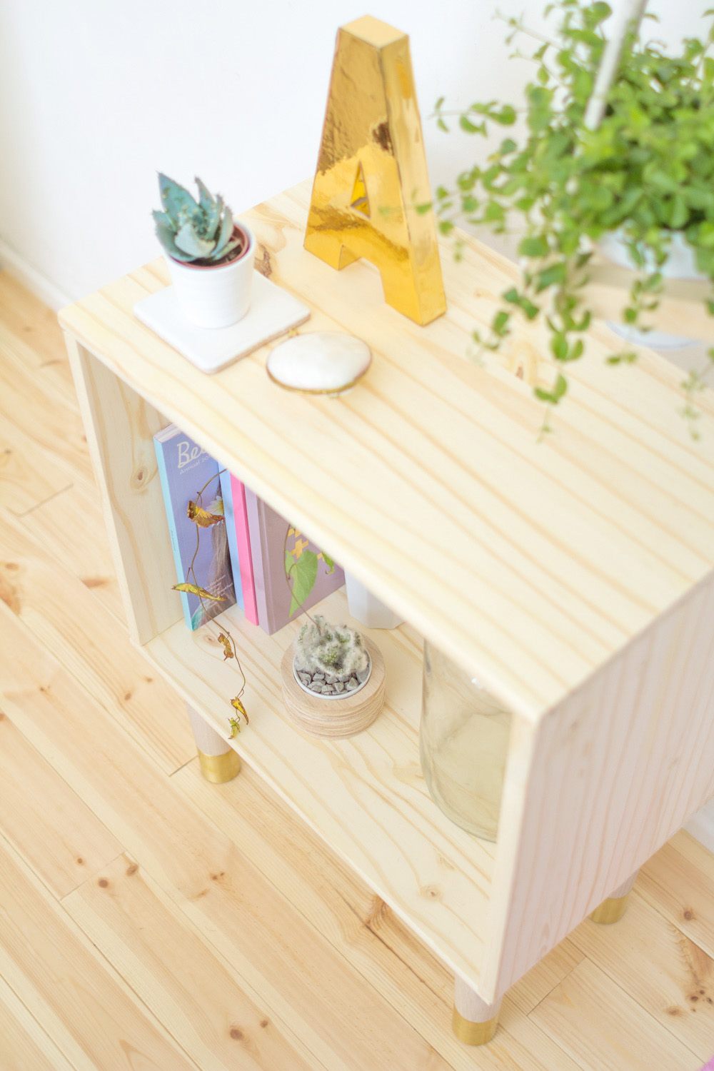 Fall For DIY Box Sideboard