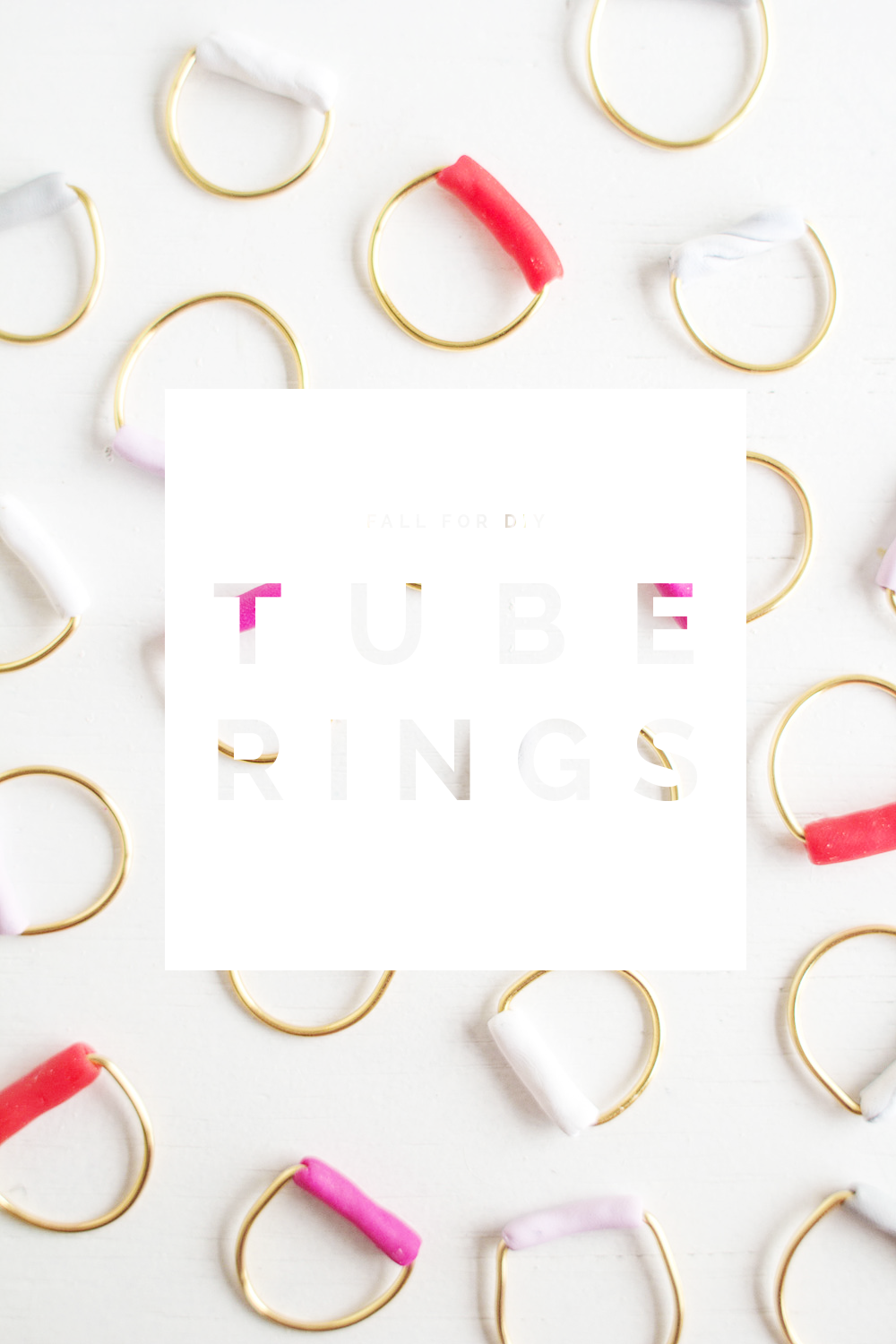 Fall For DIY Tube Ring Tutorial