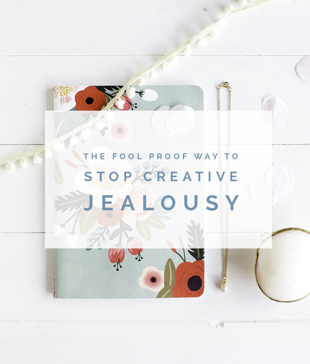 Fall For DIY | The Fool Proof Way to stop Creative Jealousy in it's tracks