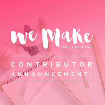 Let's meet the We Make Collective Contributors!