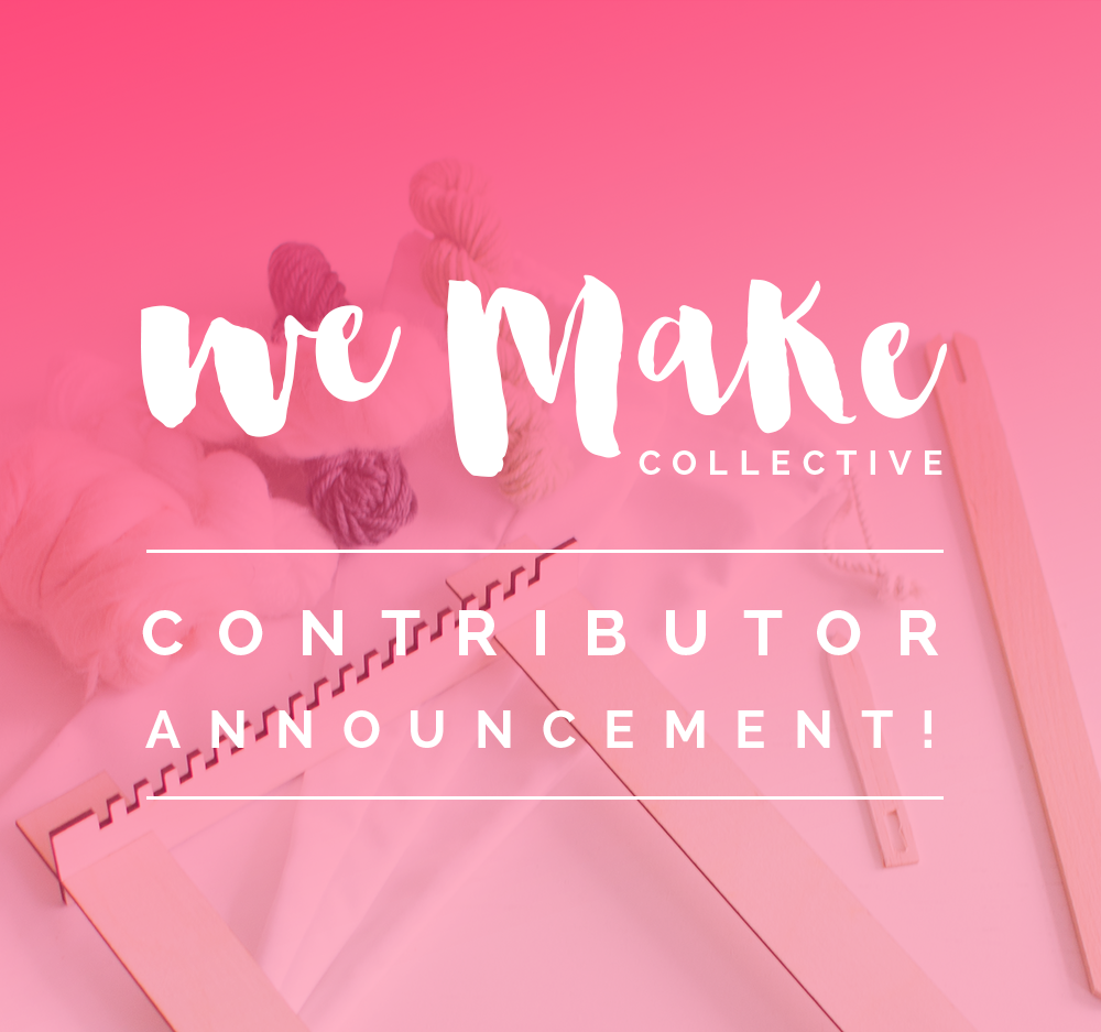 We Make Collective contributor announcement