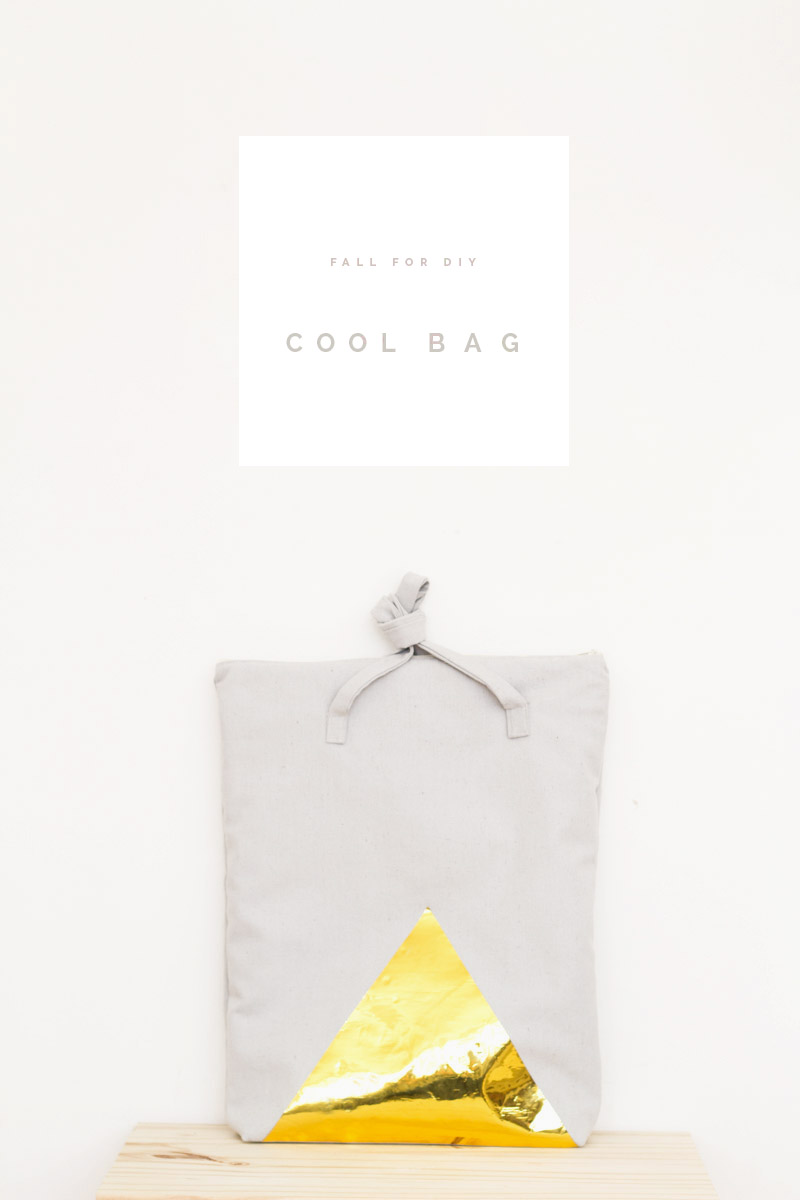 Cool Bag tutorial | Fall For DIY