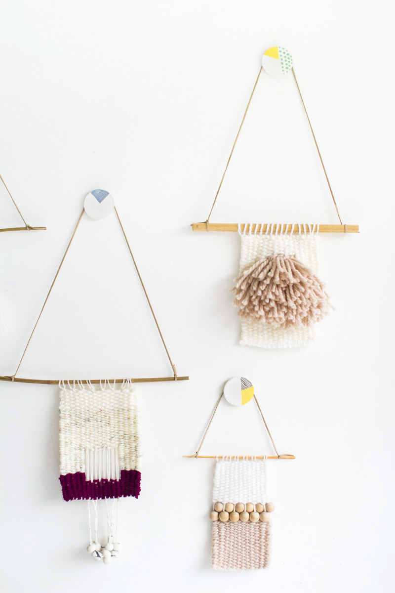 Painted Clay Wall Hooks | Fall For DIY