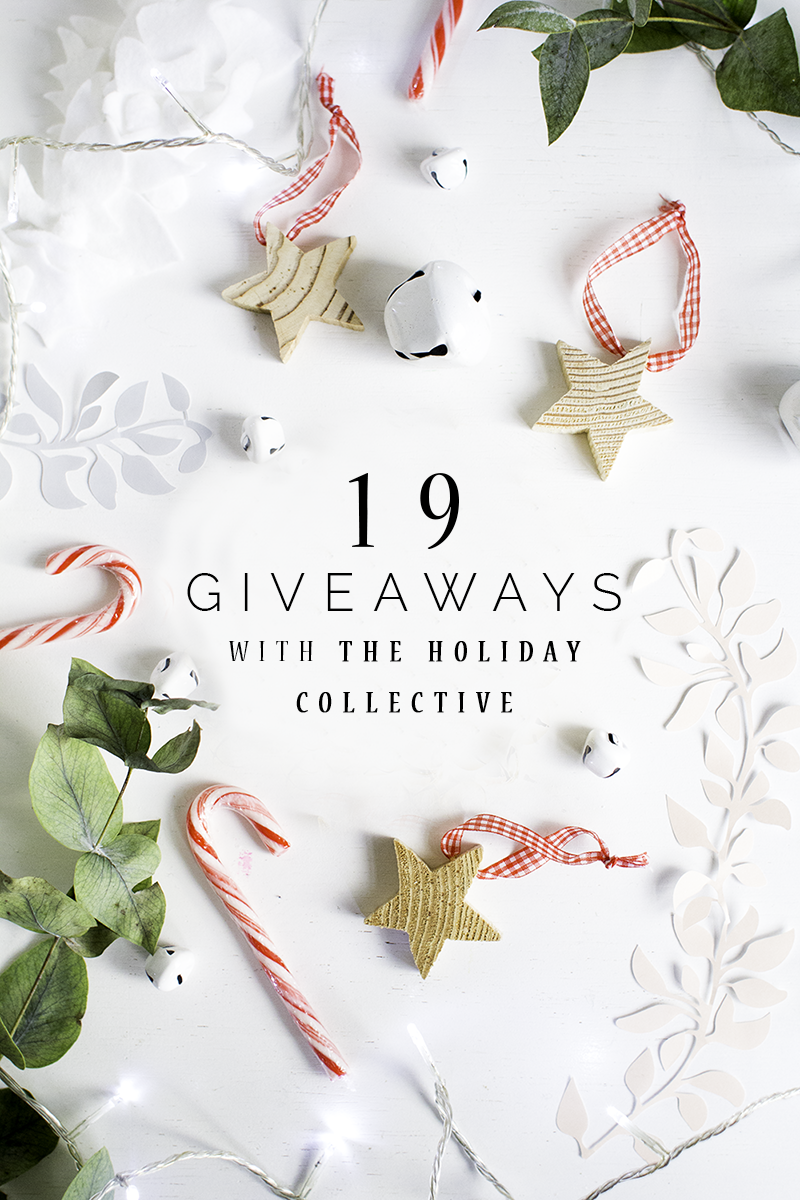 19 Giveaways from the bloggers behind the holiday collective | @fallfordiy