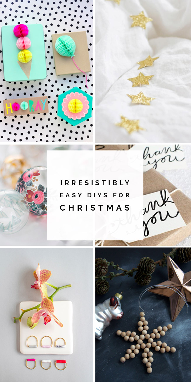 Irresistibly easy DIYs for Christmas | Fall For DIY round up