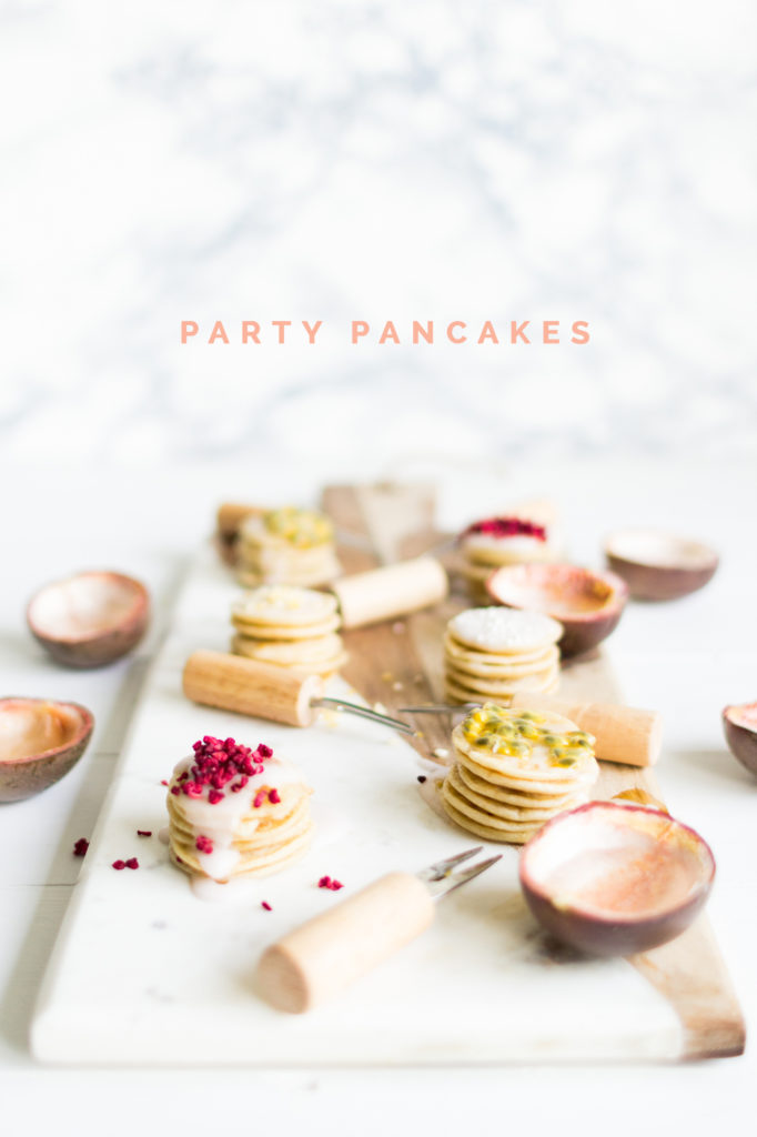 Party Pancake Recipe (vegan friendly) | @fallfordiy