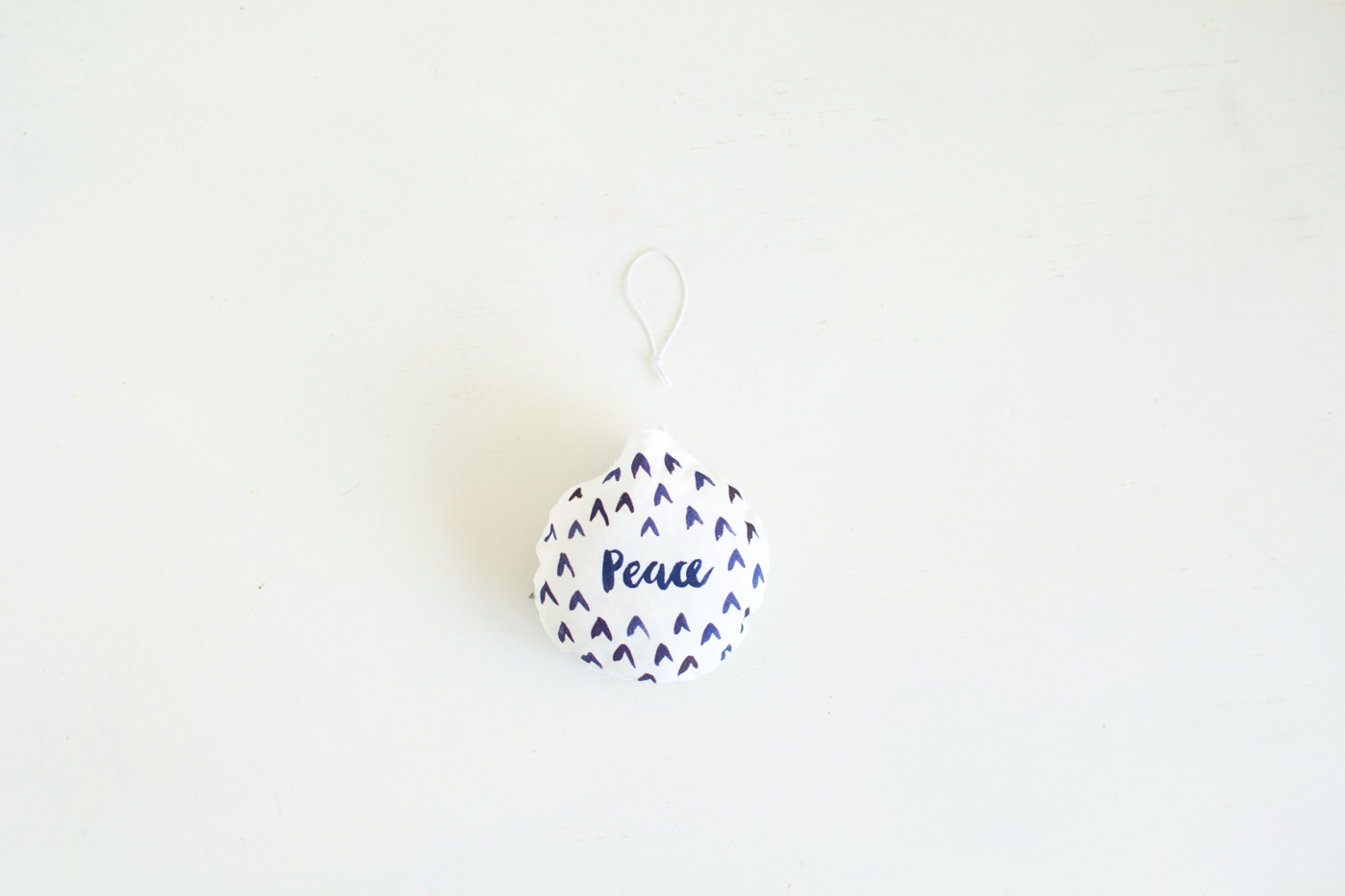 DIY Watercolour Printed Fabric Bauble Christmas Decorations | @fallfordiy-9