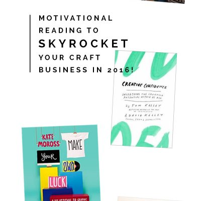 Craft Business Books to make 2016 the Best Year Yet