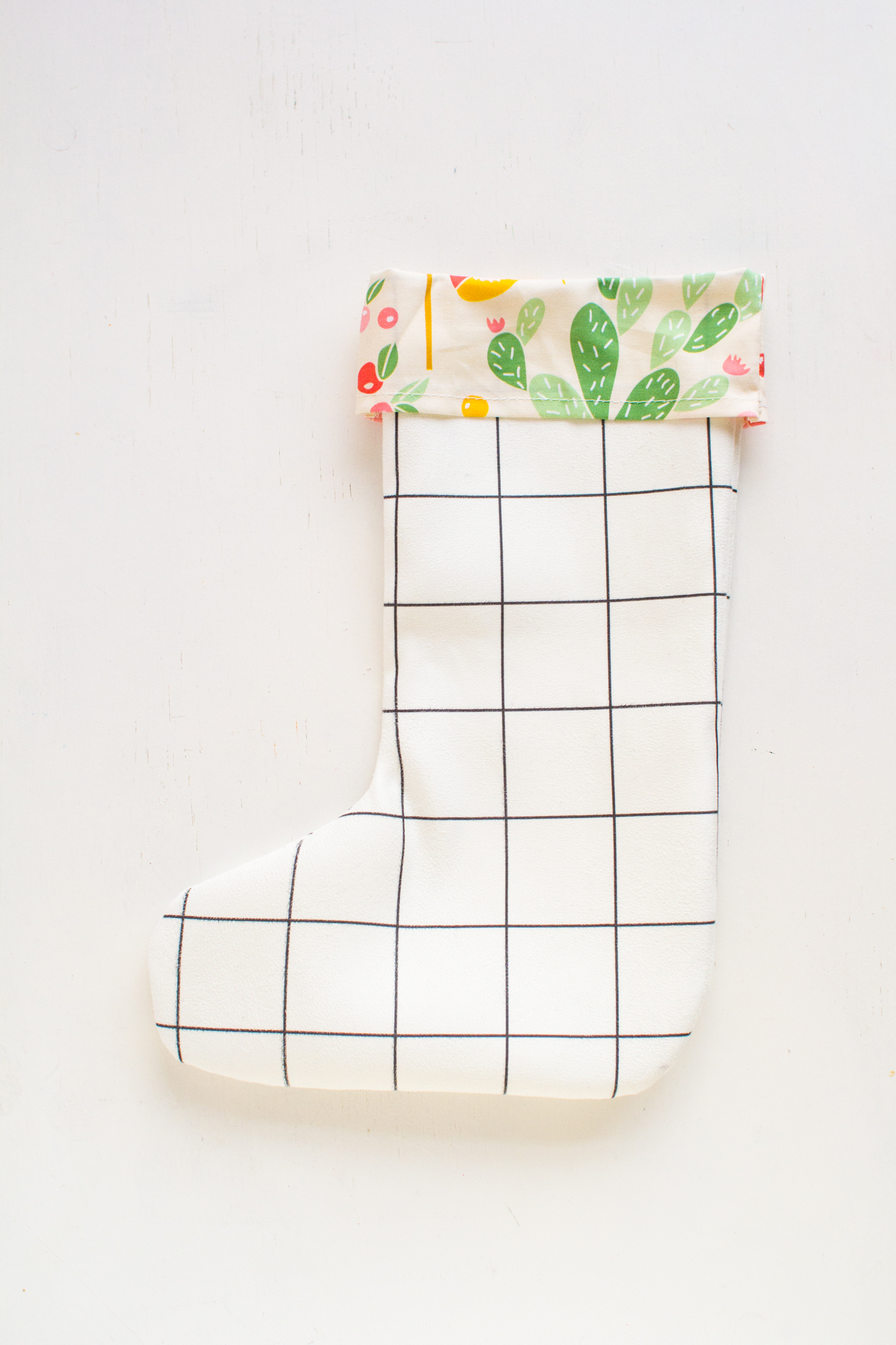 West Elm 12 Days of Christmas DIY Stocking | Fall For DIY