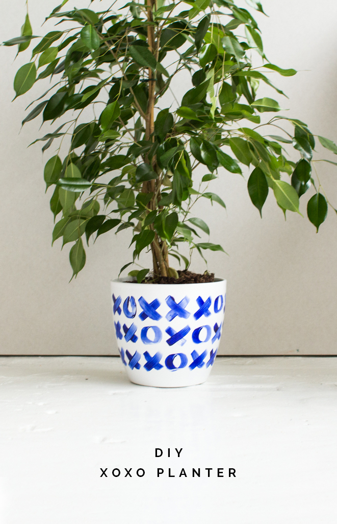 DIY XO Planter tutorial | Fall for DIY