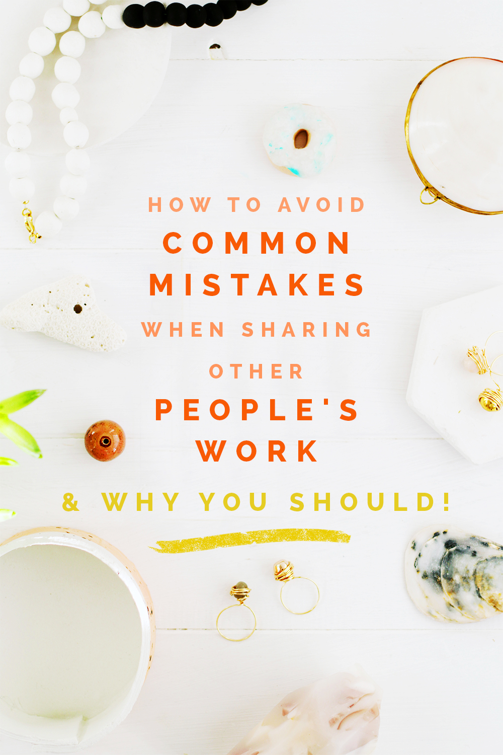 Sharing is Caring... right? How to avoid common mistakes when sharing other people's work & why you should @fallfordiy
