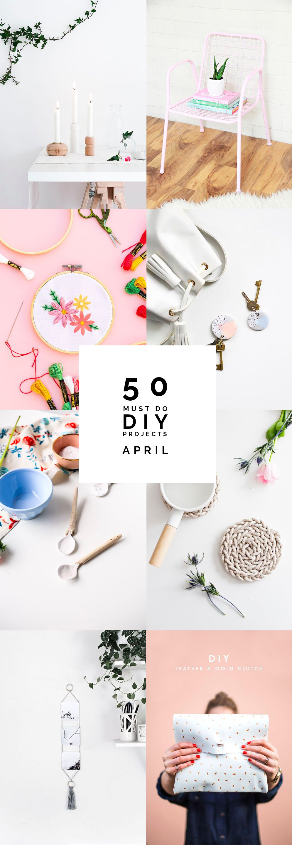 50 Must do DIY Projects for April | @fallfordiy