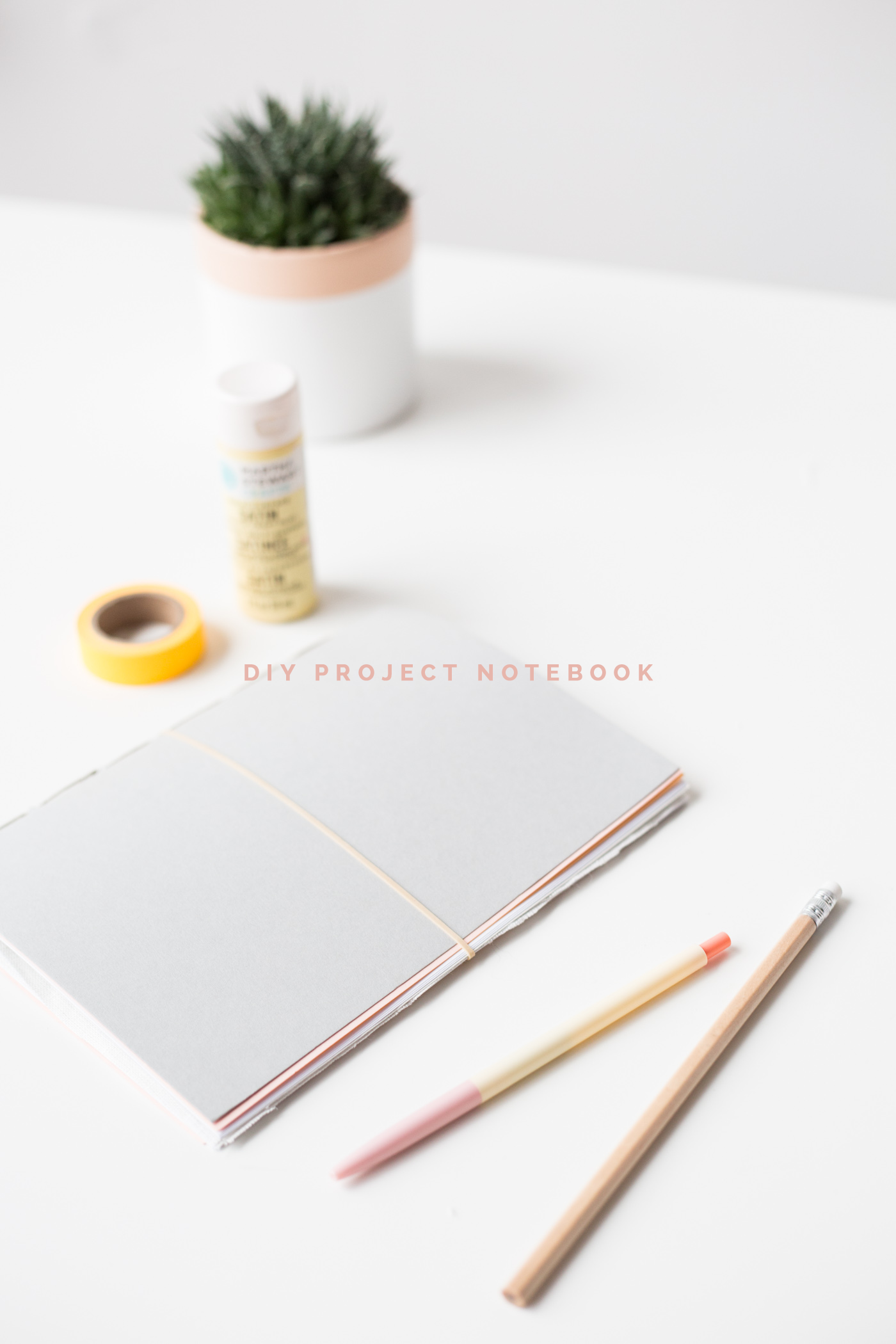 DIY 10 Minute Project Notebook