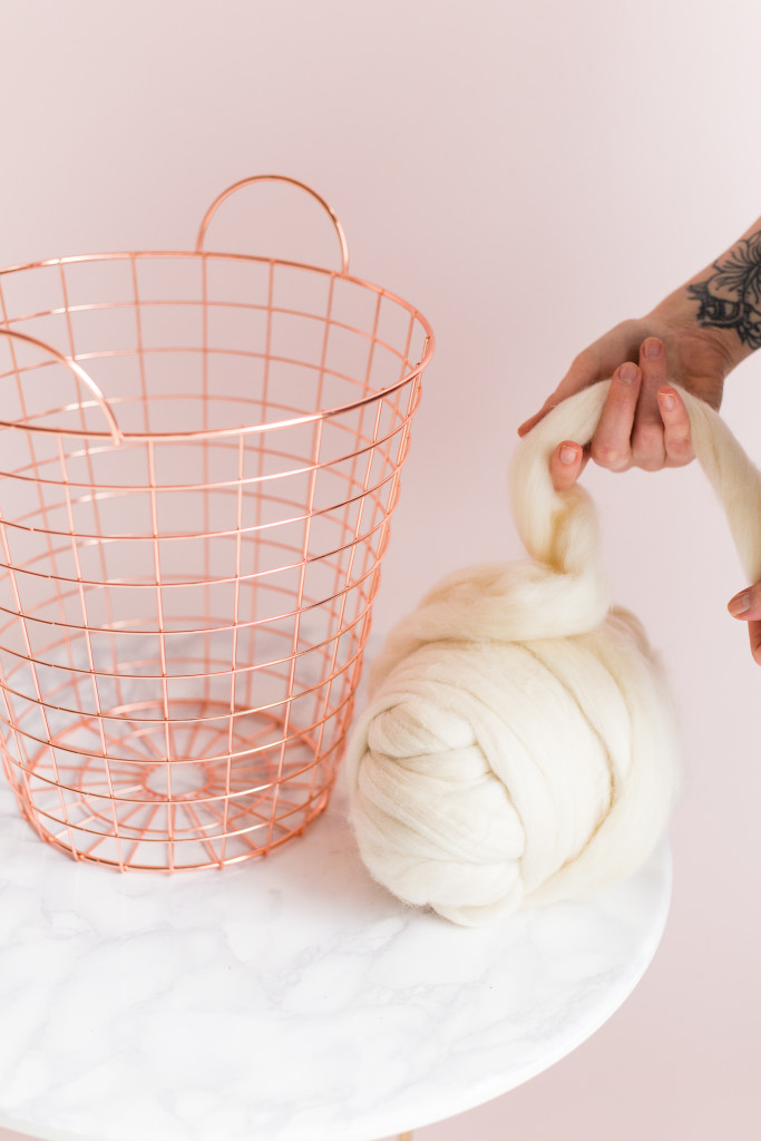 How Long Does It Take To Weave A Basket : Diy wool woven paper basket fall for