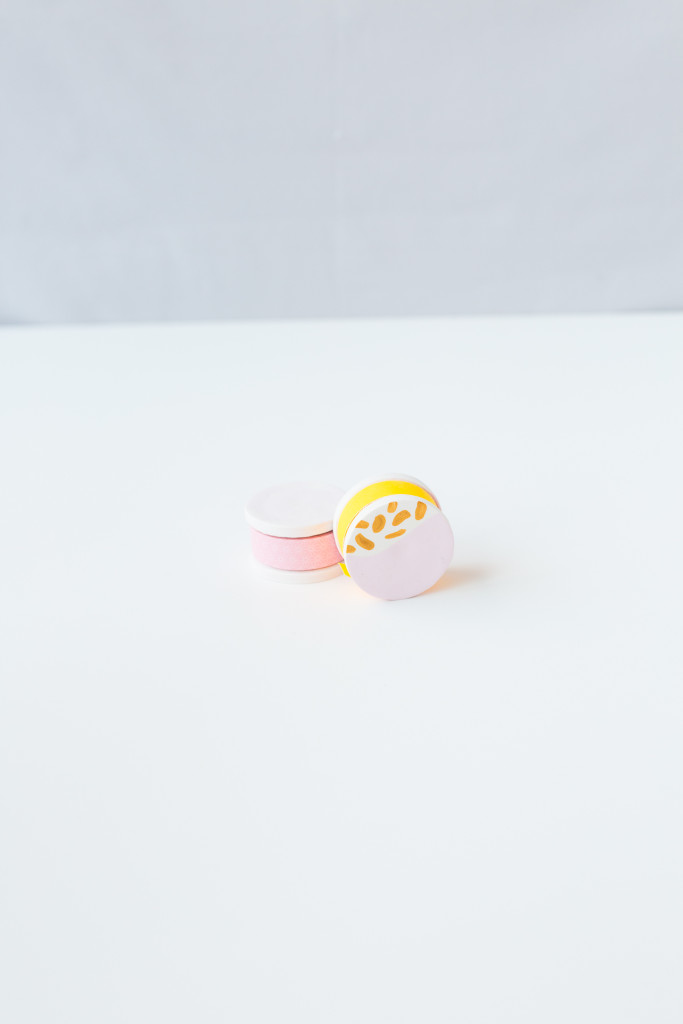 Washi Tape Holder with FIMO | @wemakecollective & @fallfordiy