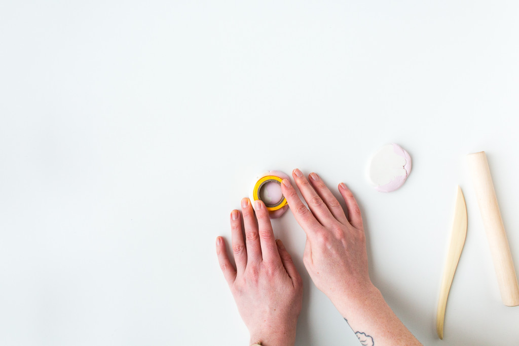 Washi Tape Holder with FIMO | @wemakecollective & @fallfordiy-5