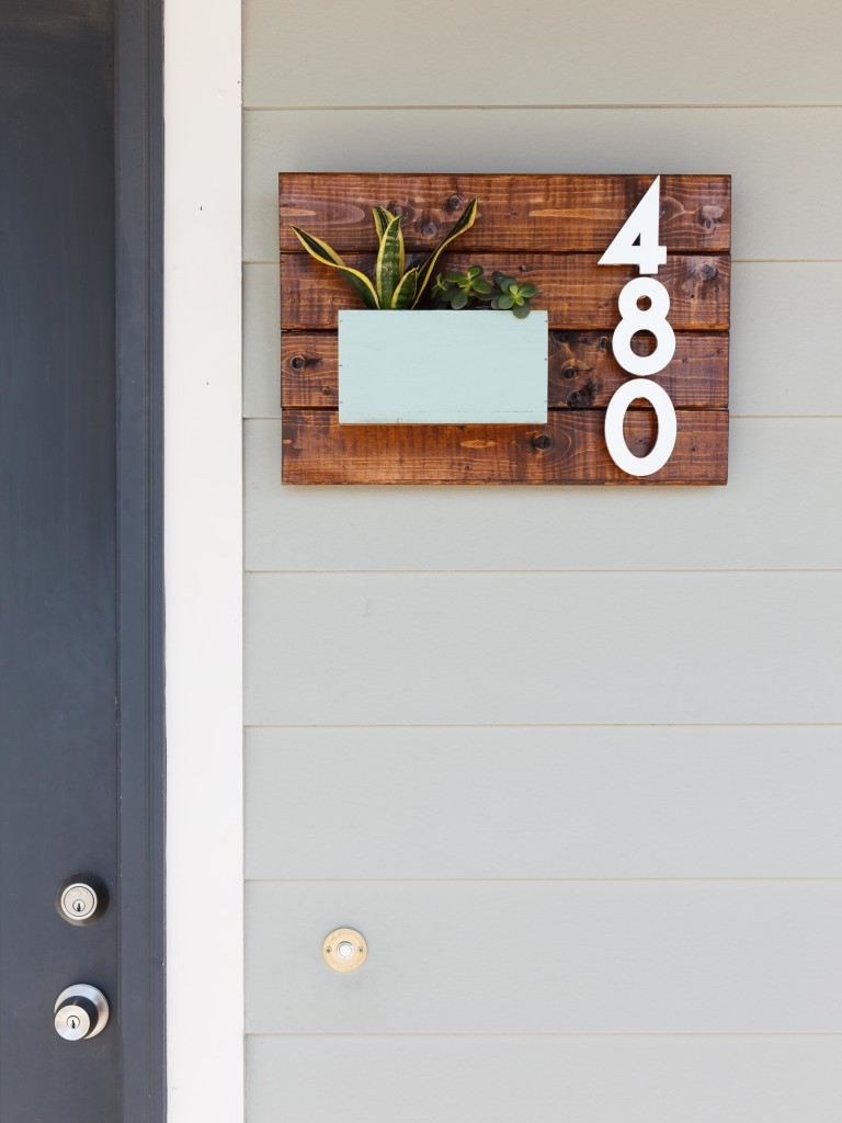 Home entrance inspiration - numbers
