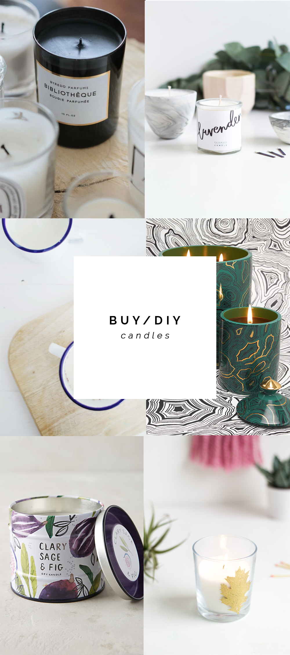BUY/DIY Candles | @fallfordiy