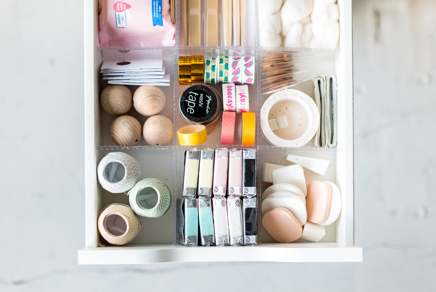 DIY Drawer Dividers to Organise Your Craft Supplies | @fallfordiy-8