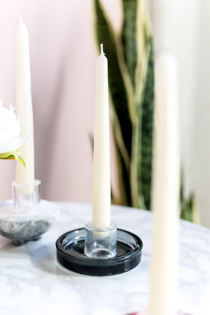 DIY Perspex Candle Holders Tutorials | @fallfordiy