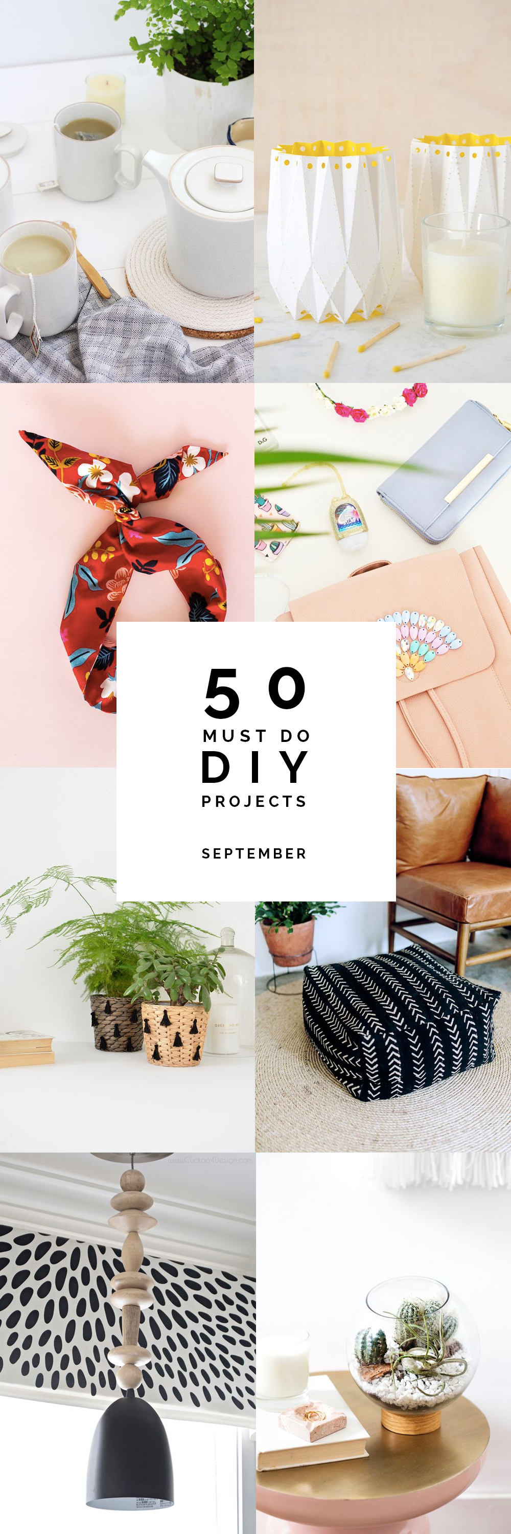 50 Must Do DIY's | September @fallfordiy