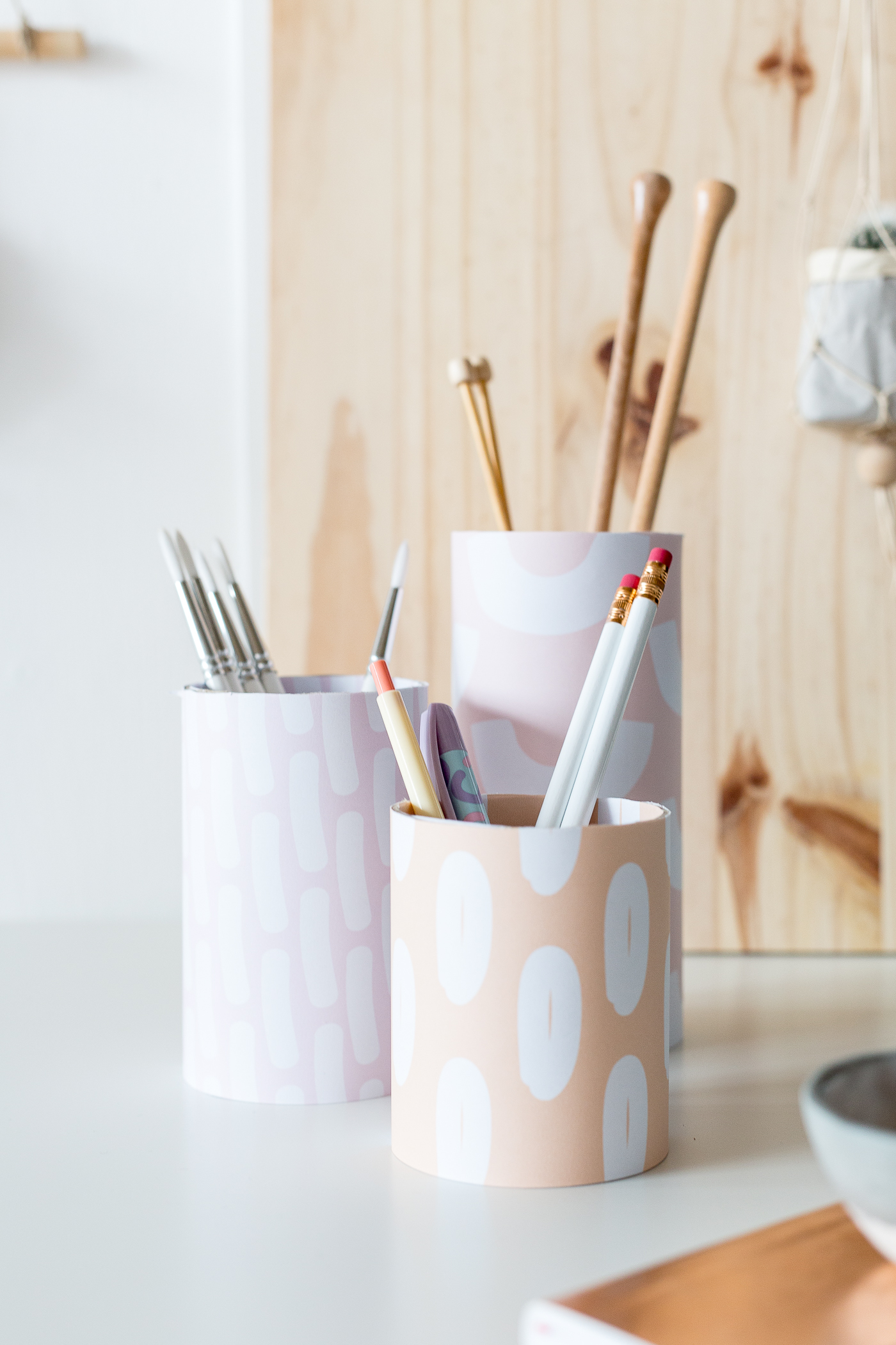 Back to School Printable Pen Pot Covers | @fallfordiy-11