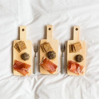 DIY Mini Plywood Individual Cheeseboards