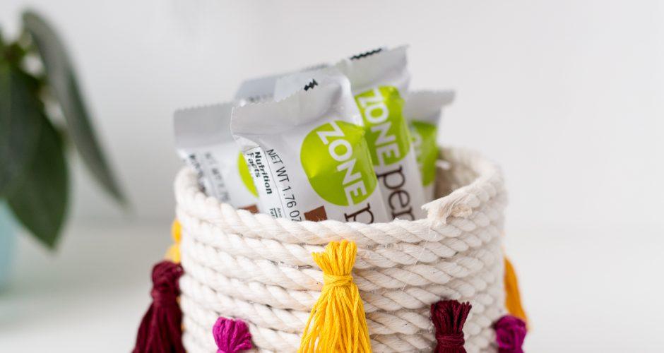 DIY Coiled Rope Tassel Snack Bowl