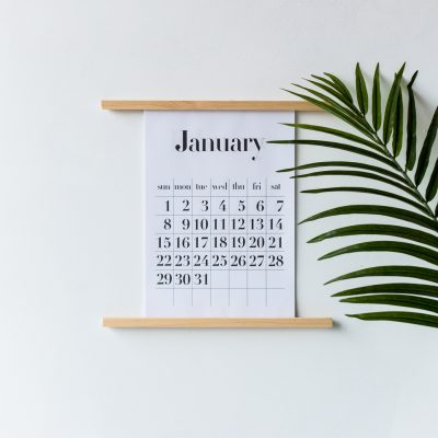 Keep on Track with this DIY Calendar Wall Stand & Free A4/A3 Printable Calendar