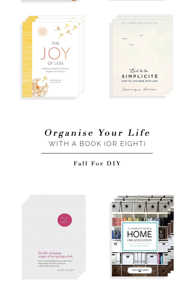 Eight Books you Need to Organise Everything in Your Life