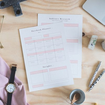 Free Printable Social Media Planners | Facebook