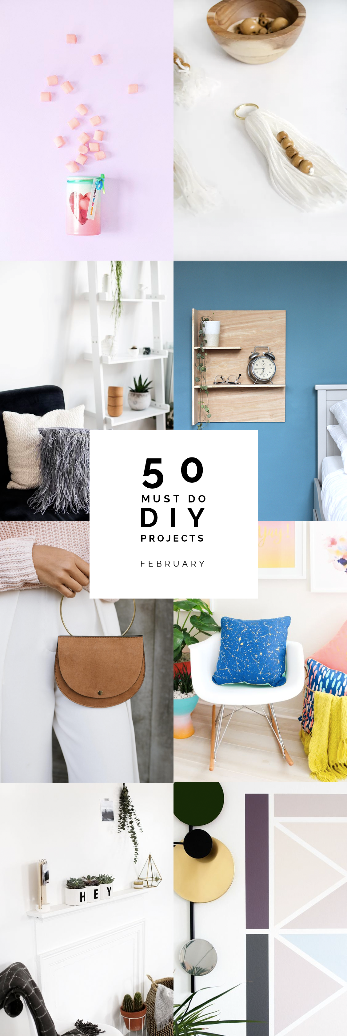 50 Must Do DIYs February | @fallfordiy
