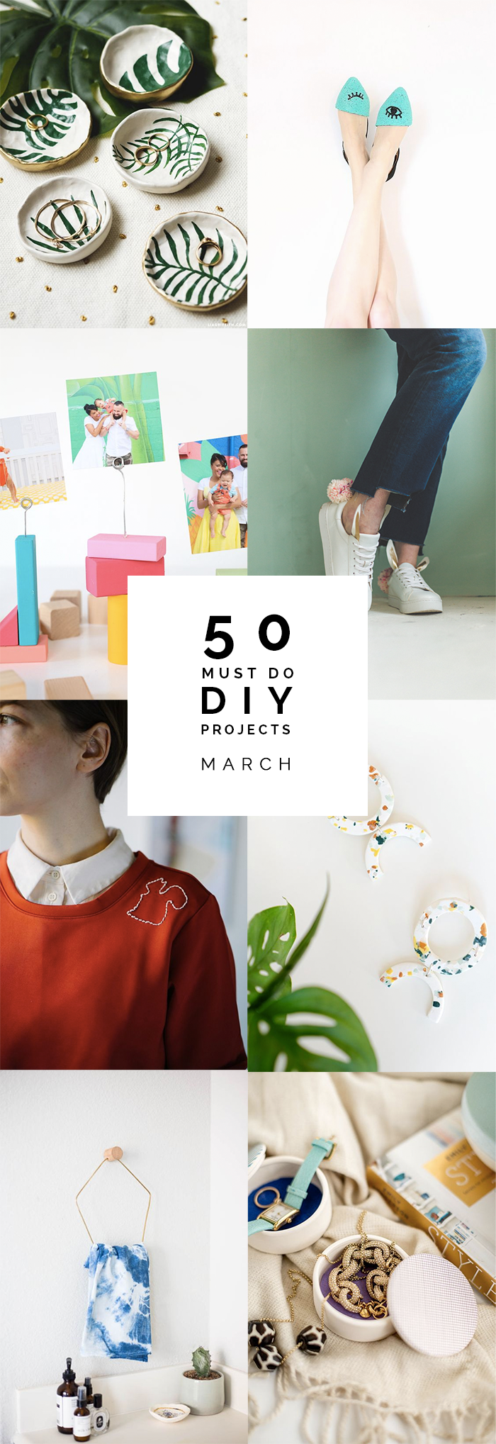 50 Must do DIYs for March