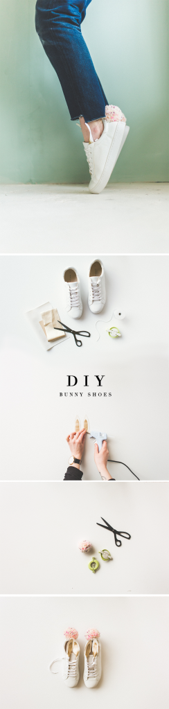 DIY Bunny Sneakers | @fallfordiy