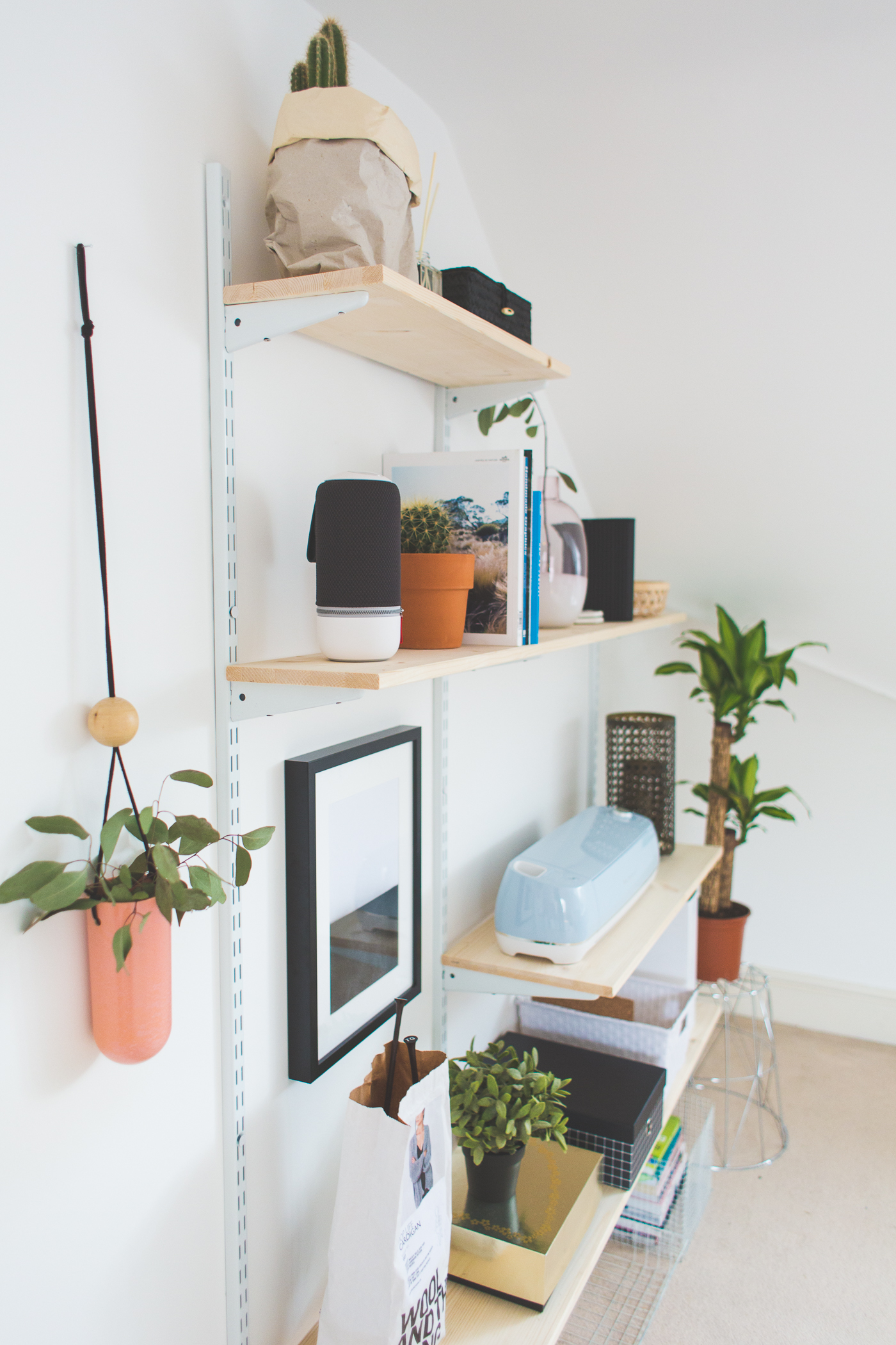 Home and Living Bank Holiday Restoration Challenge | Office Shelfie Makeover @fallfordiy