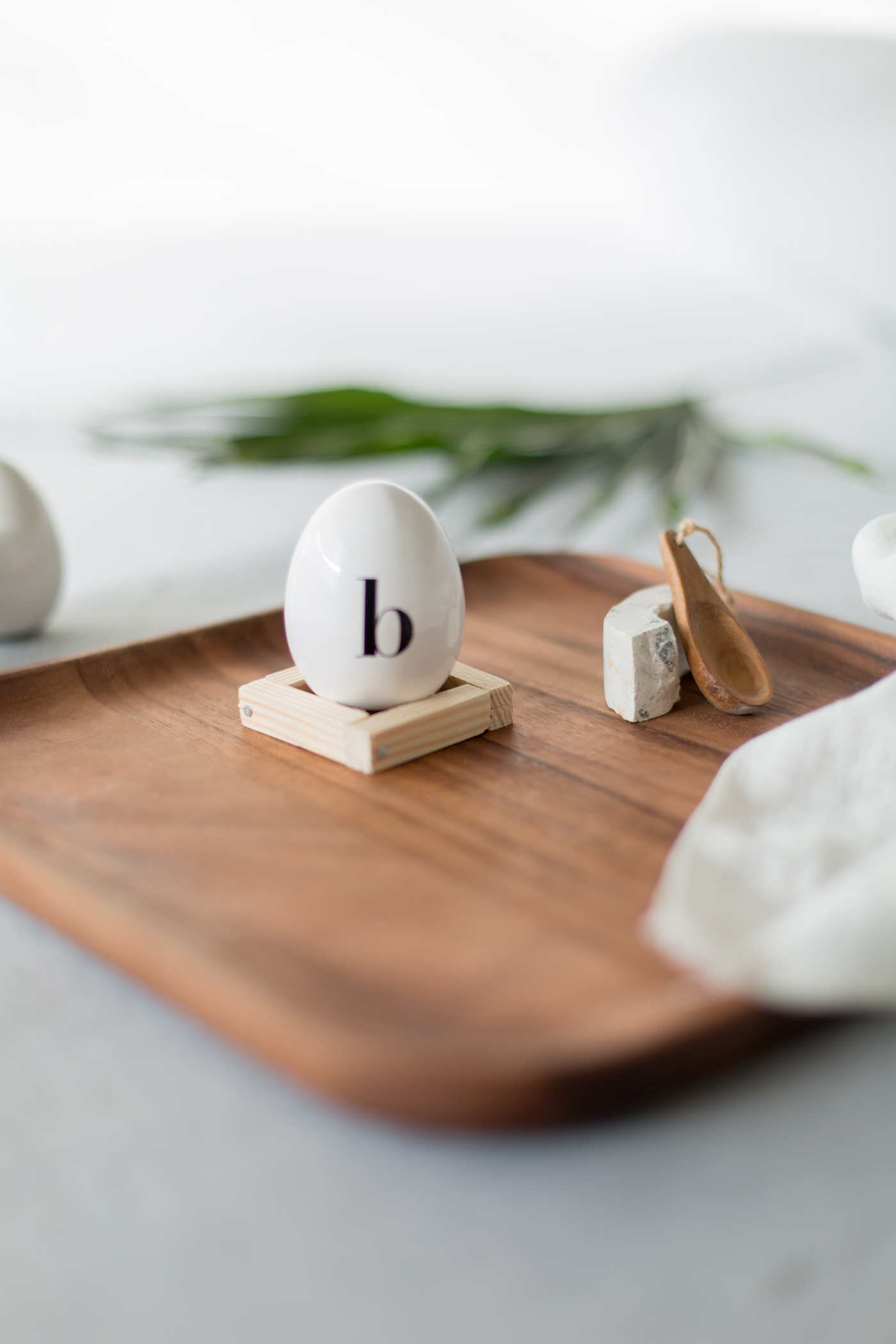 DIY Wooden Easter Egg Cup