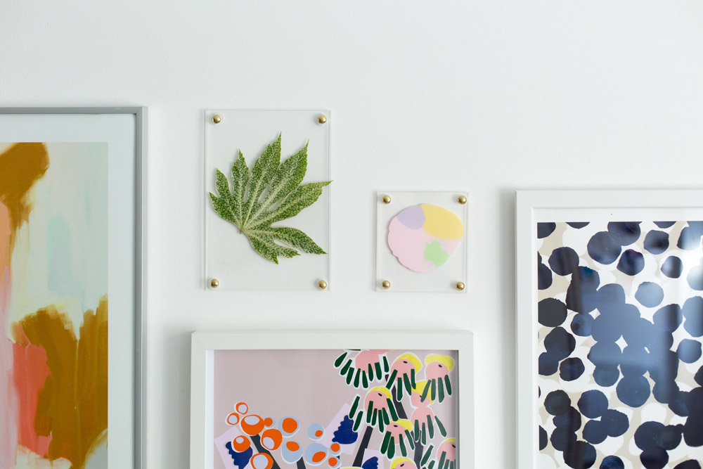DIY No Drill Acrylic Picture Frames | Fall For DIY