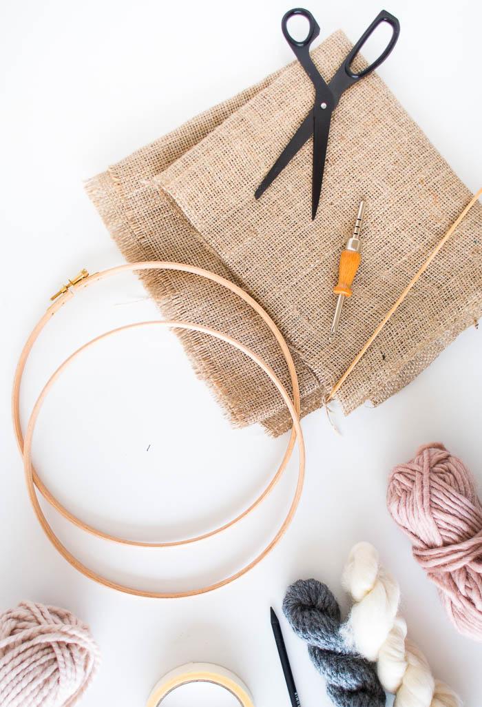 DIY Punch Rug Artwork for Beginners Tutorial | Fall For DIY