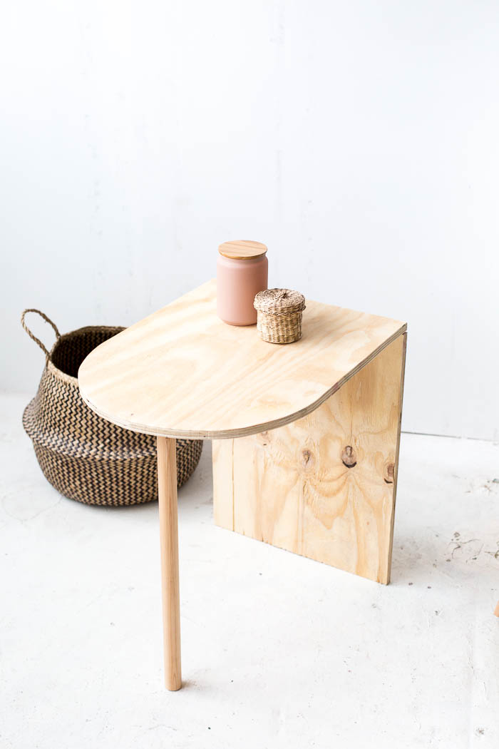 Diy Simple Side Table Fall For Diy