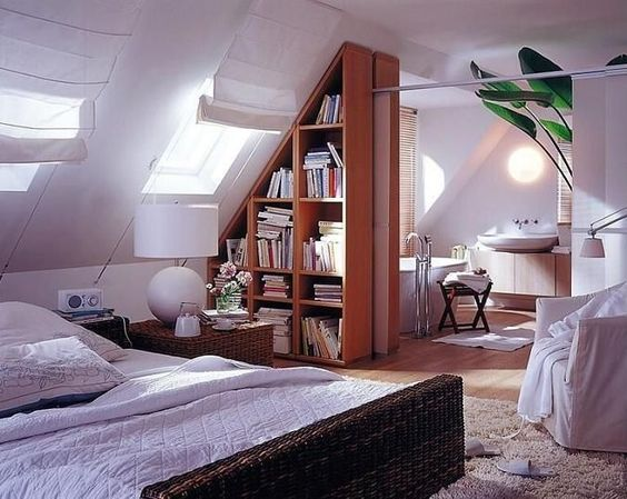 How to Design a Room with a Sloped Roof